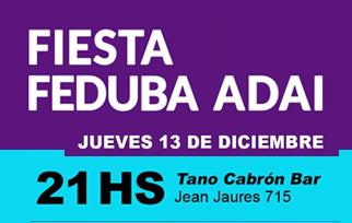 Fiesta Feduba – Adai