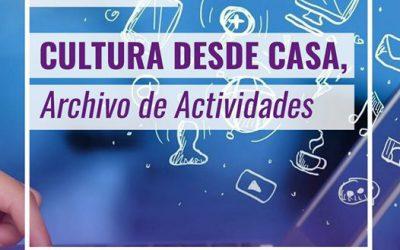 Banco de Enlaces: Cultura desde Casa por lo del Coronavirus
