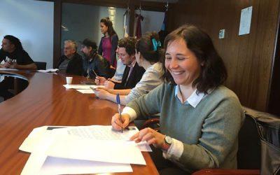 Firma de Convenio con CLUMVI y MECA (en el CCC)