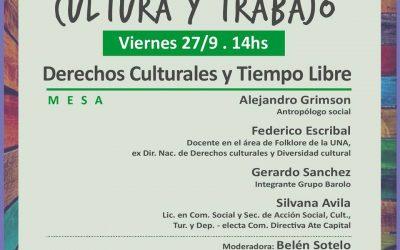 Mesa de Cultura y Tiempo Libre, Festival de #RadarDeLosTrabajadores