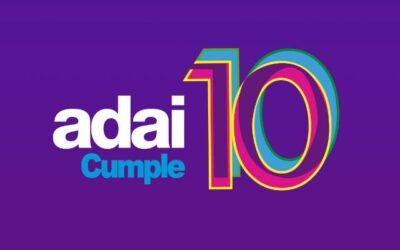 ¡ADAI cumple 10 años!