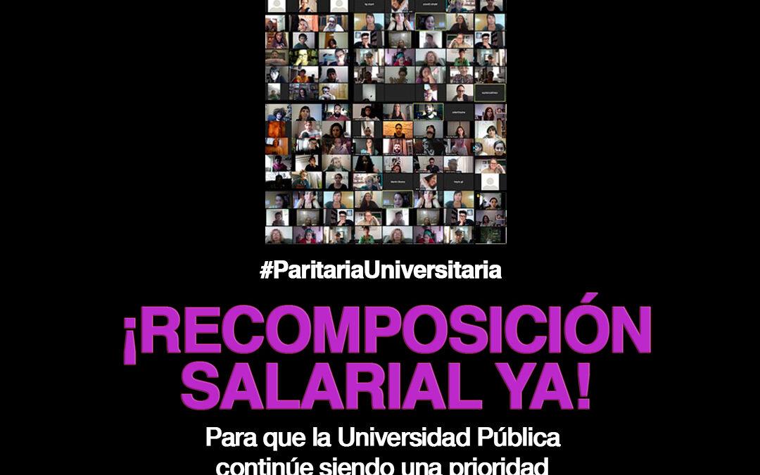El Plenario de CONADU ratificó el rechazo a la nueva propuesta salarial